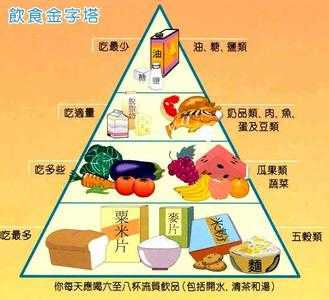 饮食金字塔